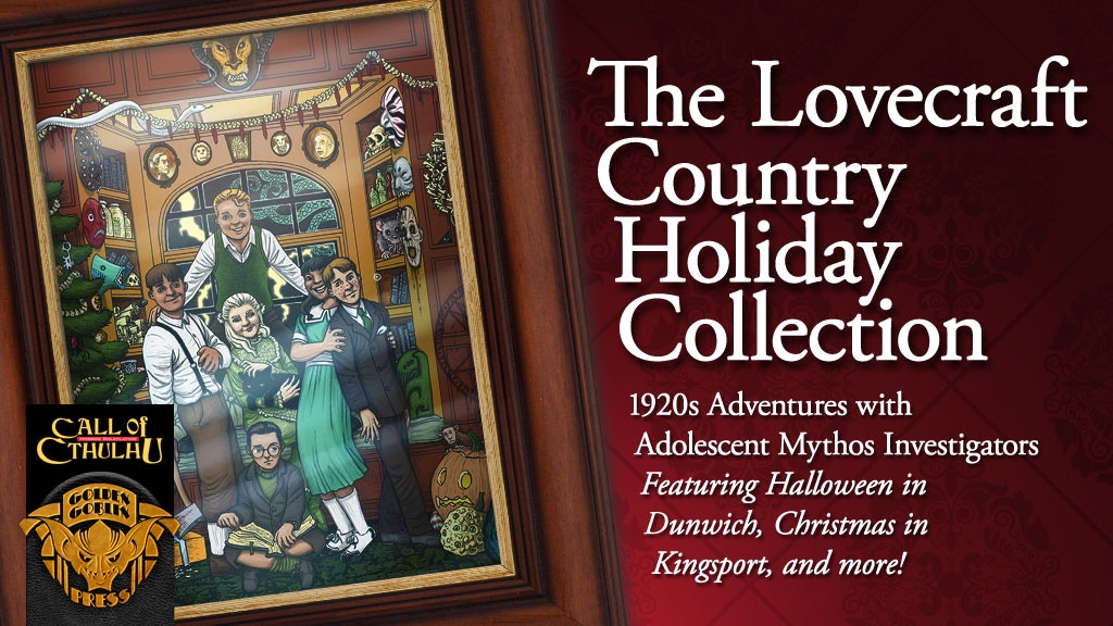 Update 20: This is Halloween, this is Halloween... · The Lovecraft Country Holiday Collection
