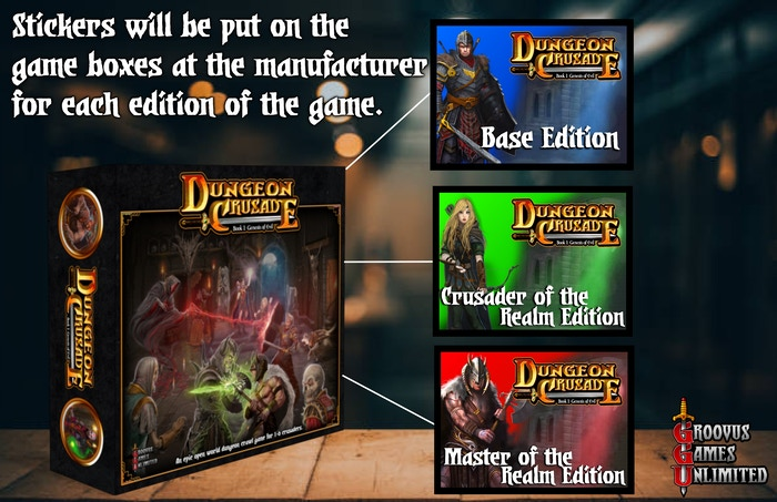 Dungeon Crusade - Book I: Genesis of Evil by Groovus Games