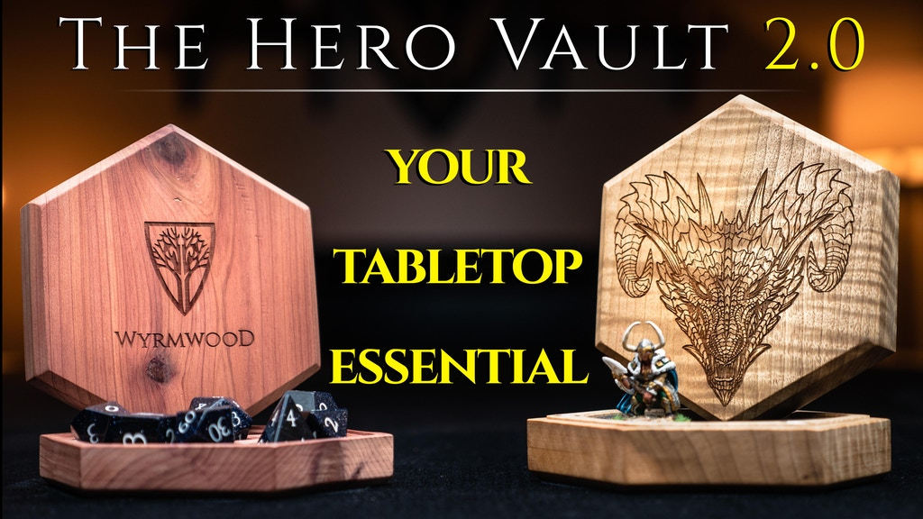 The Wyrmwood Hero Vault 2.0 project video thumbnail