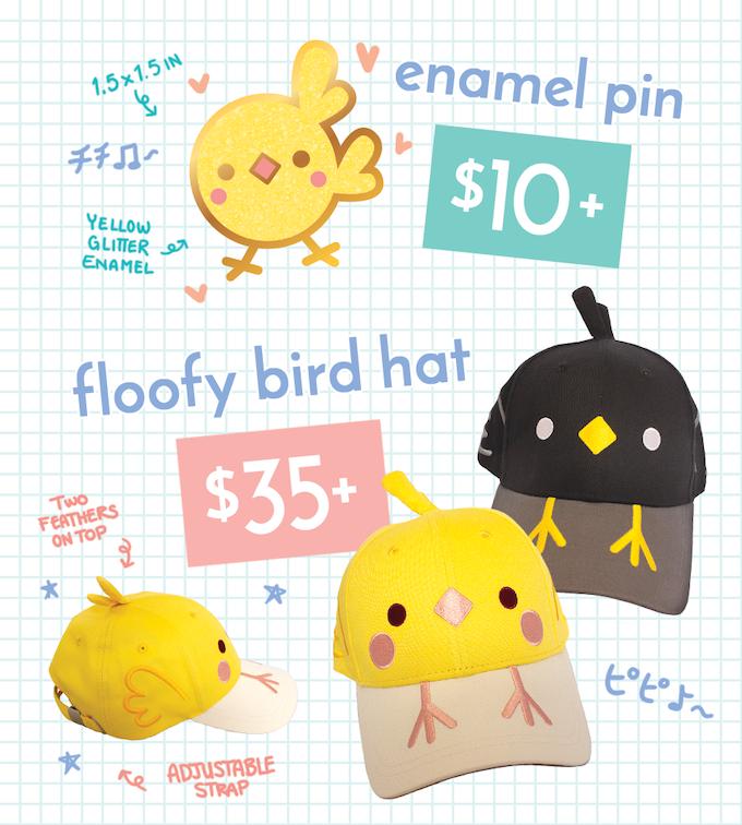 Floofy Bird Hats