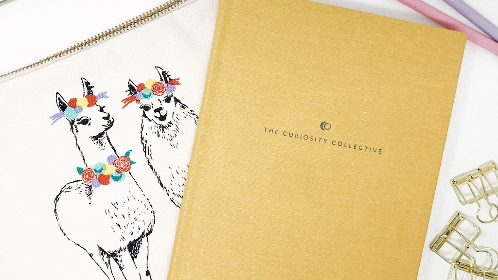 Project image for The Curiosity Collective Journal