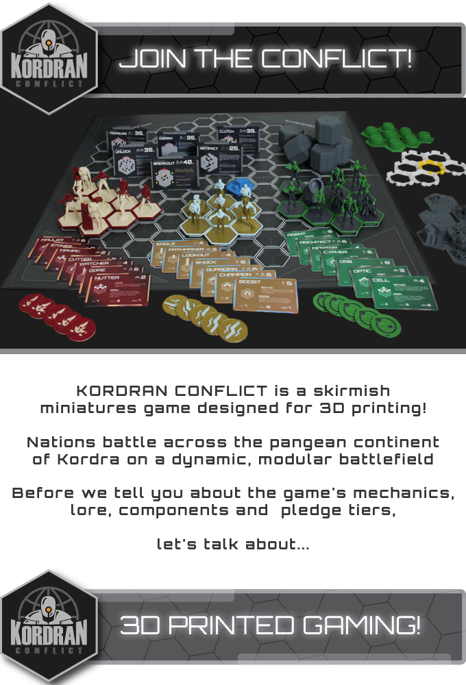 Kordran Conflict - The 3D Printable Miniatures Game by