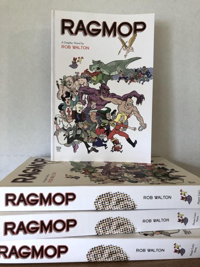 Ragmop: The World Needs Laughter!