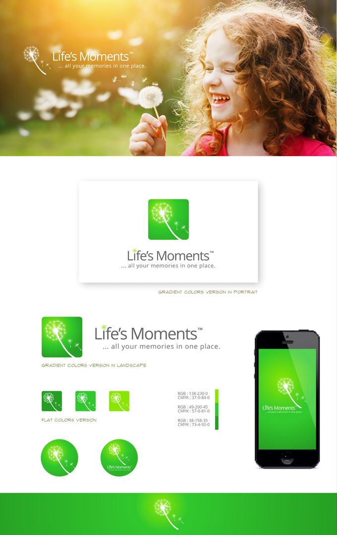 Life's Moments App- your kid's life in the palm of your hand