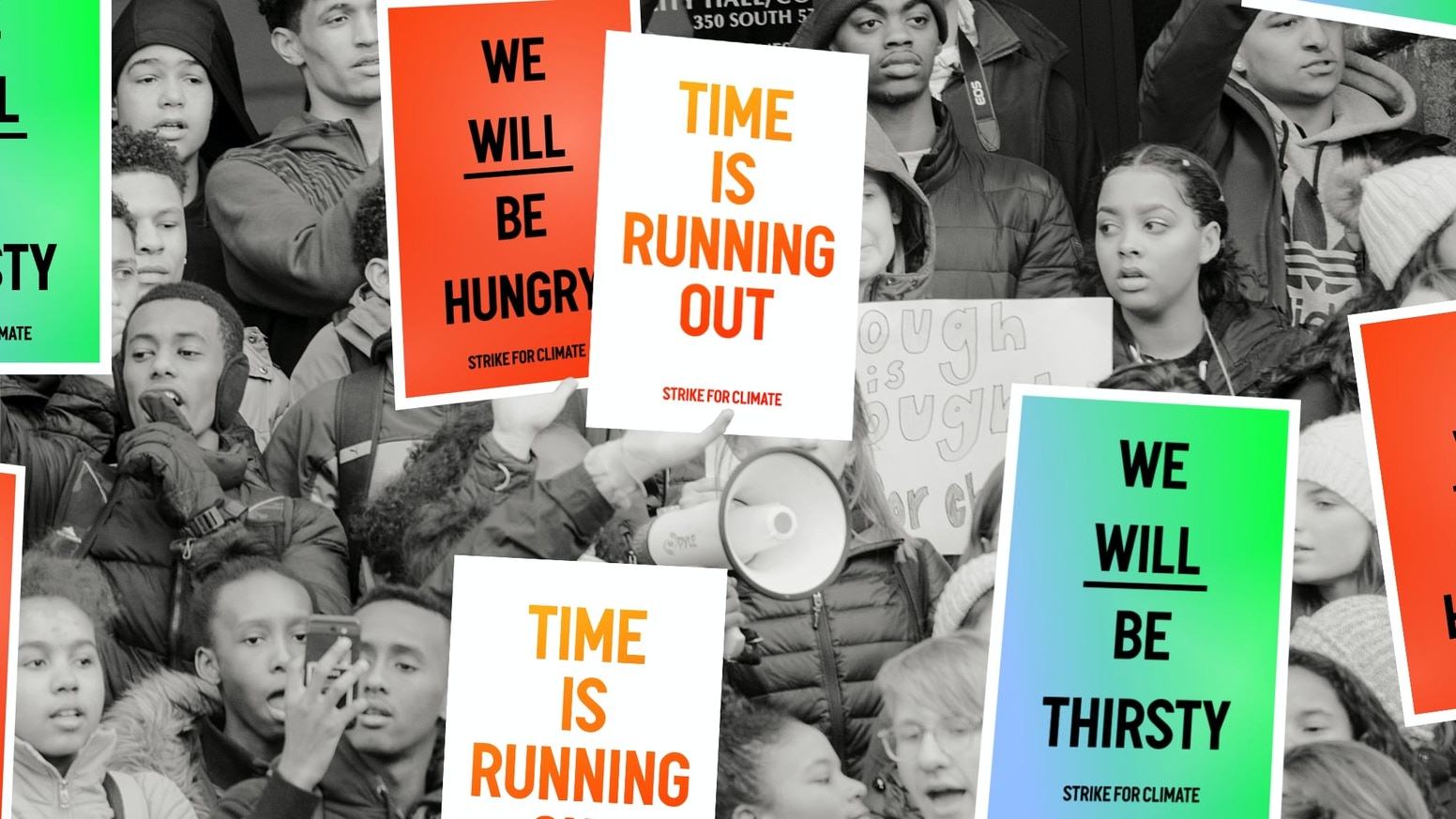 Posters for the 2019 Global Climate Strike and beyond.