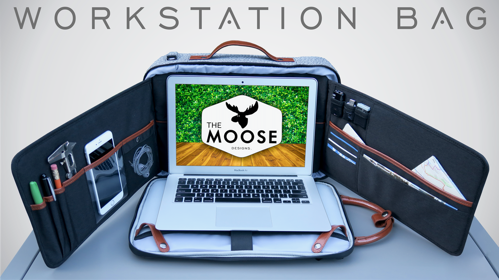 The Moose || Anti-Theft Workstation Backpack project video thumbnail