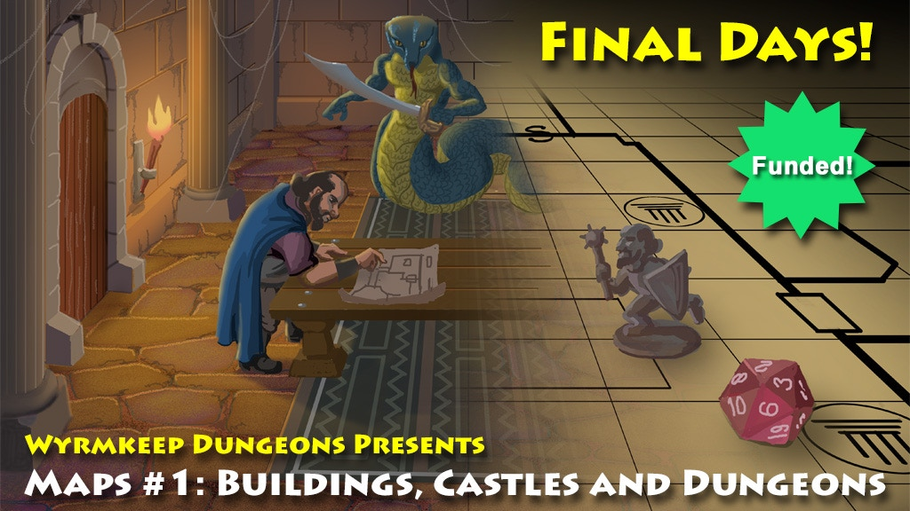 Maps: Buildings, Castles and Dungeons for All Fantasy RPGs project video thumbnail