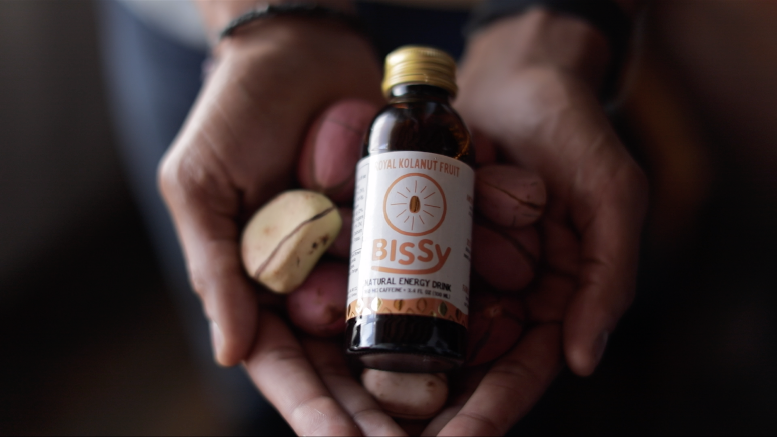 Bissy is the only healthy, plant based energy drink using natural caffeine from the ancient Nigerian kolanut fruit