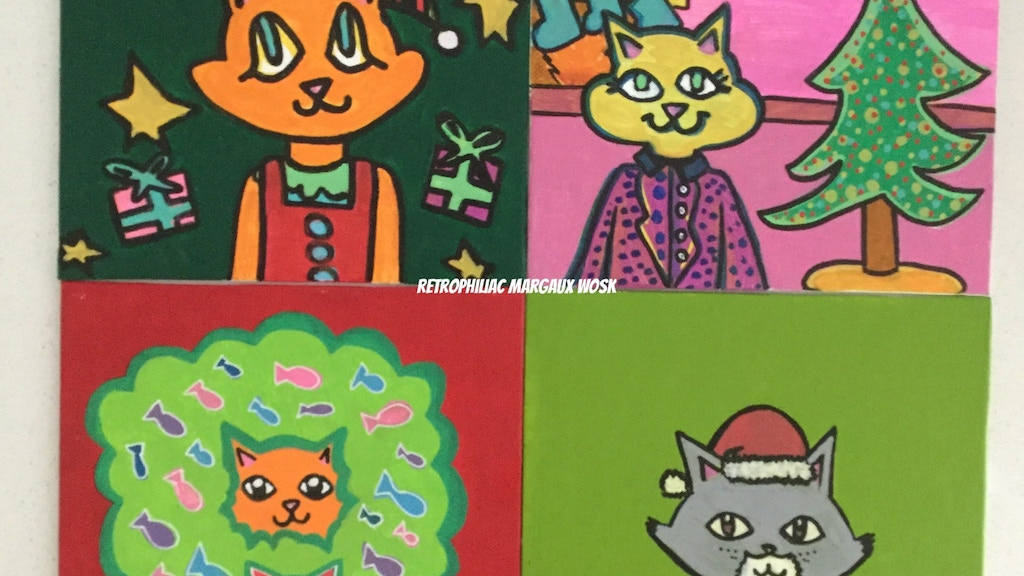 Retrophiliac: Holiday Cards project video thumbnail