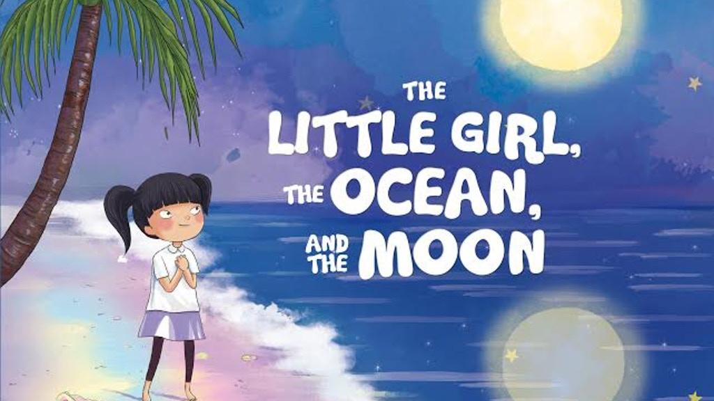 Project image for The Little Girl, The Ocean, and The Moon: A Children's Book