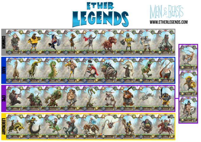 Ether Legends Collectible Trading Card Game