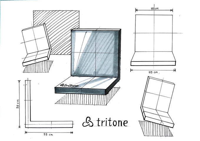 """TRITONE ASH: """"Always Ready"""" Wireless Power Base and Cell"""
