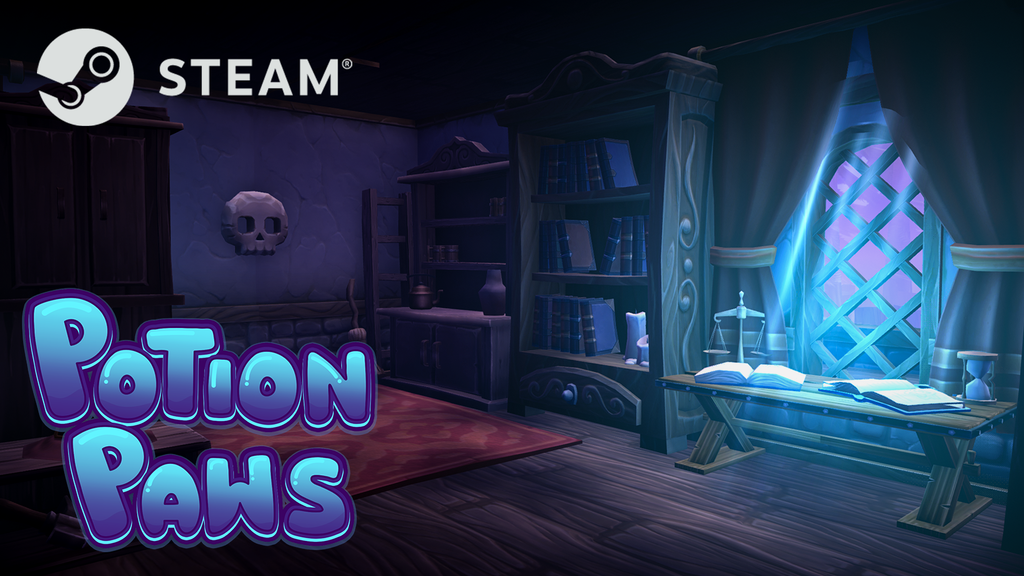 Potion Paws: A Spooky RPG Sim project video thumbnail