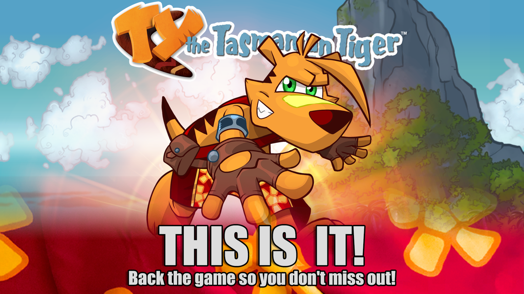 TY the Tasmanian Tiger for Switch, PS4 (& Xbox One?) by