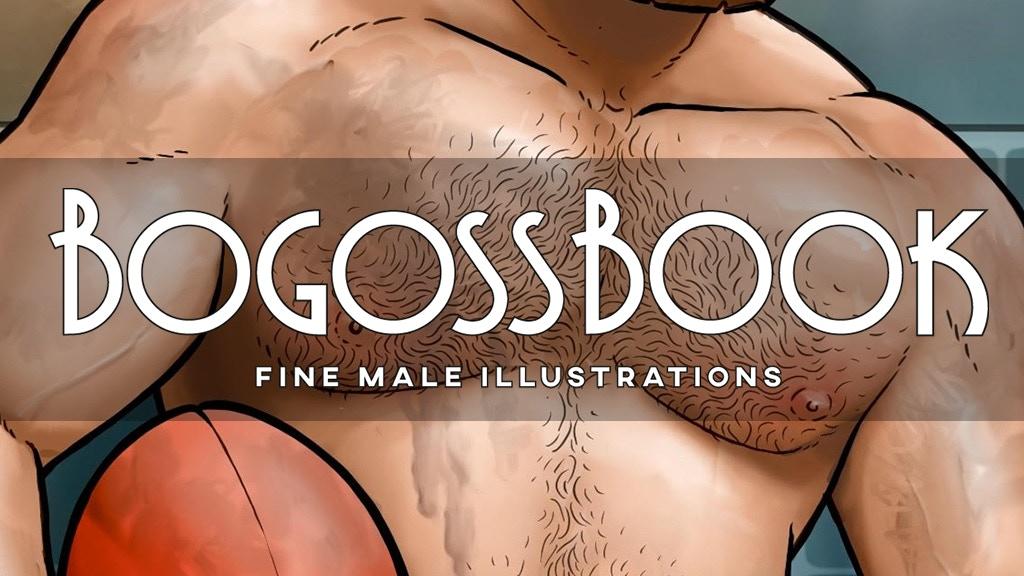 BOGOSS BOOK : Fine Male Illustrations project video thumbnail