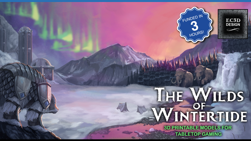 Project image for The Wilds of Wintertide - 3D Printable Tabletop Models
