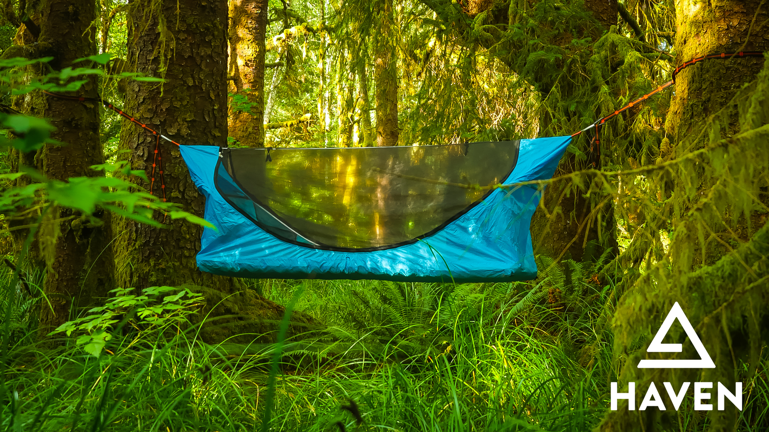 A simple, lightweight, all-in-one hammock tent. Haven makes sleep the highlight of camping.