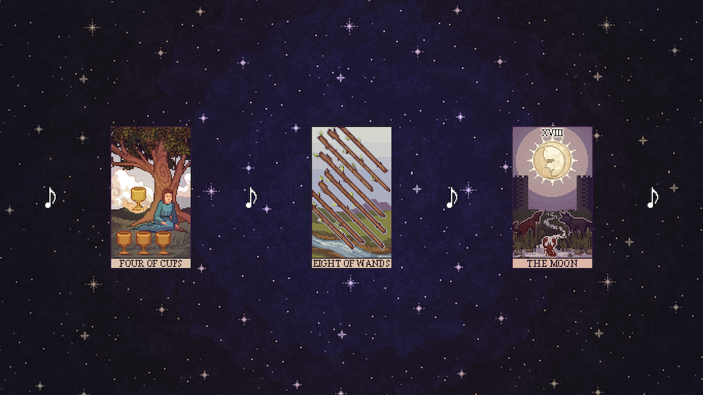 Update 2: Cancelling this campaign due to Kickstarter's union busting · Divinuet: a musical tarot reading game (Canceled)