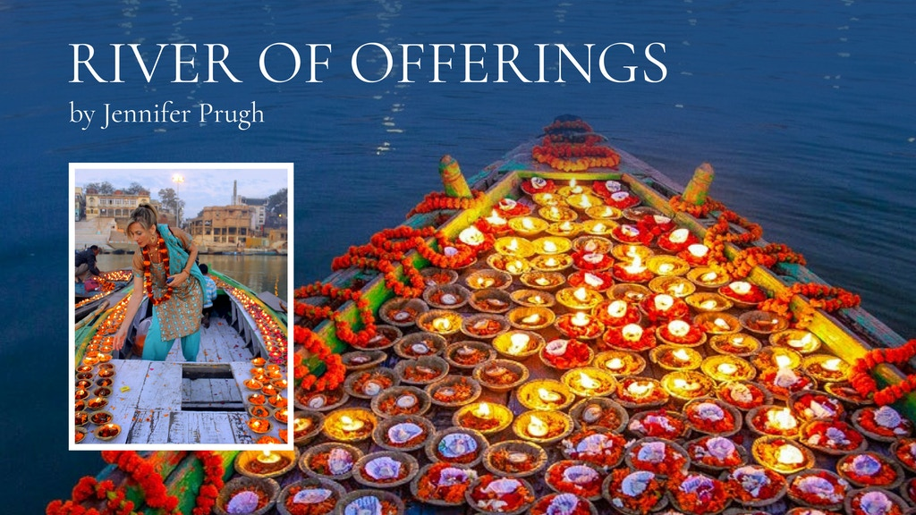 River of Offerings: a Photo Book about the Ganges River project video thumbnail