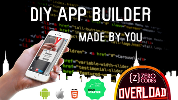 Zero Code Apps Overload - DIY app builder, apps made by you!