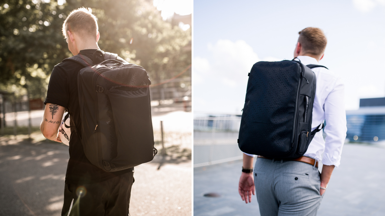 Stop leaving the house with a sports AND a business bag.  This is the ONE bag you need for your day inspiring you 24 hours for sports.