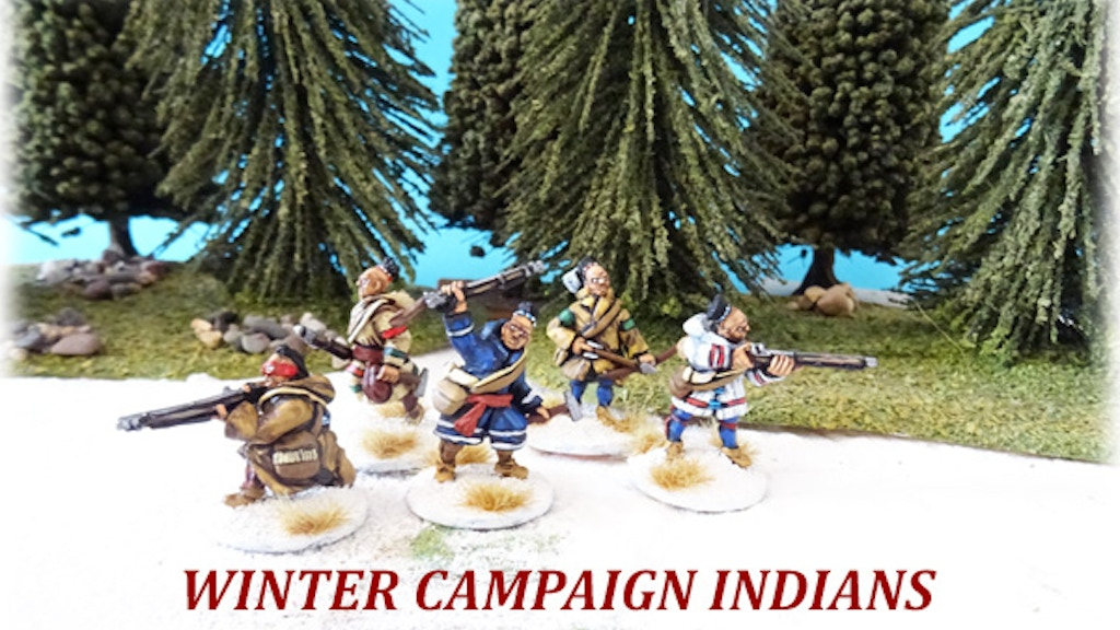 Project image for 28mm French & Indian War - 'Winter Campaign' French Regulars