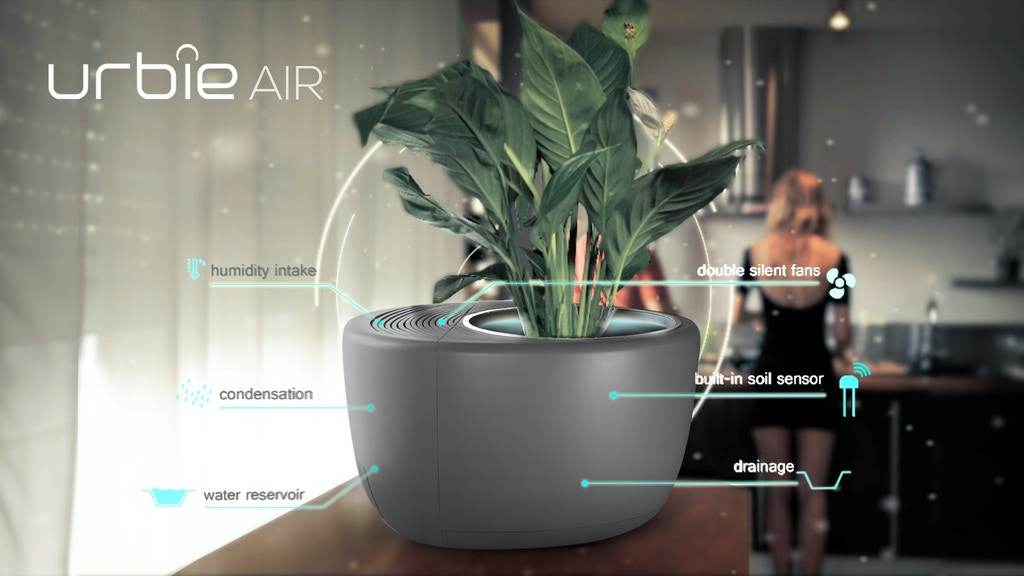 Urbie Air: World's first smart 3-in-1 Eco Air Purifier project video thumbnail