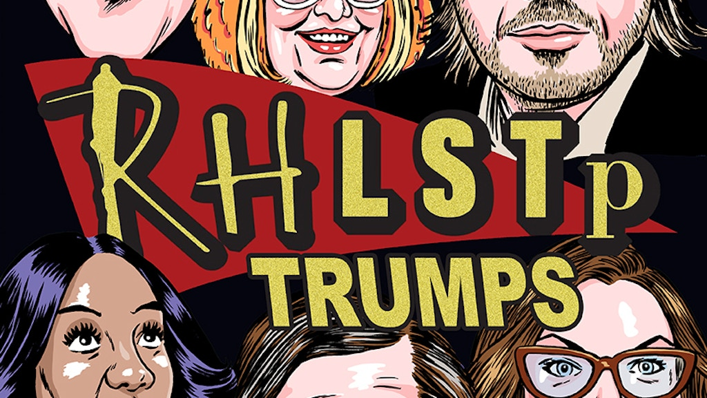 RHLSTP Trump Kickstarter project video thumbnail