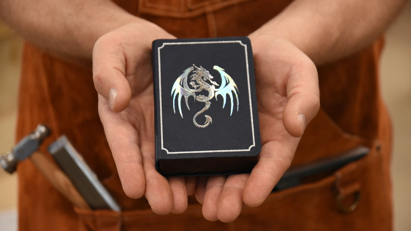 Pocket-sized gaming boxes for your Dungeons and Dragons miniatures and dice