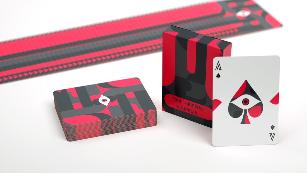The Seers Laetus: Cardistry deck printed by USPCC project video thumbnail