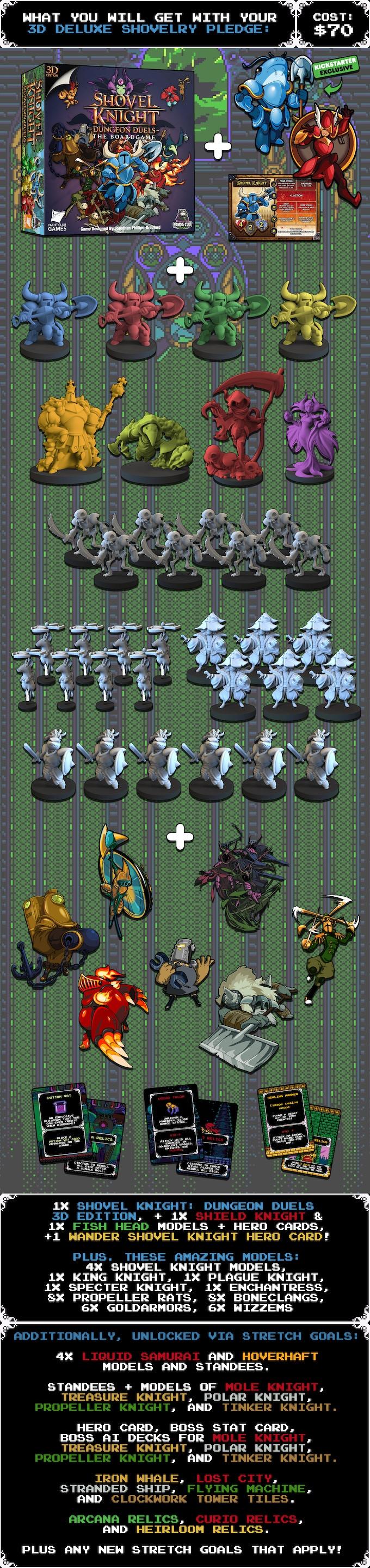 Shovel Knight: Dungeon Duels by Panda Cult Games — Kickstarter