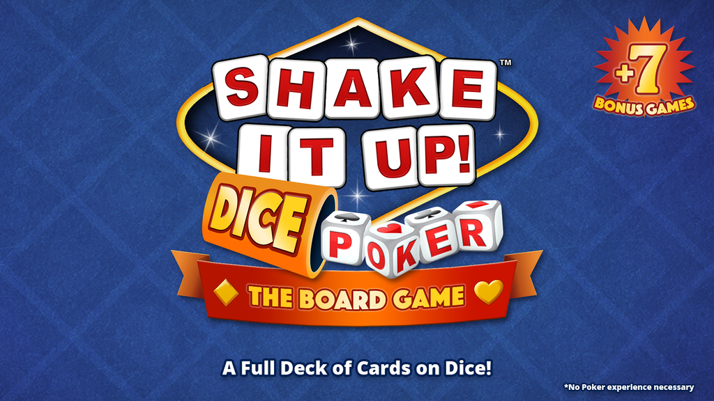 Update 8: 1 Update & 7 BONUS GAMES!!! · SHAKE IT UP! Dice™ Poker | The Board Game