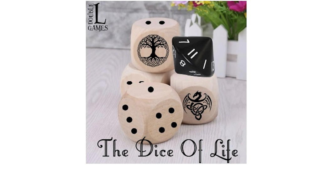 Project image for THE DICE OF LIFE a Double L Games Adventure