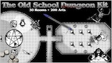 The Old School Dungeon Kit for RPG Maps thumbnail