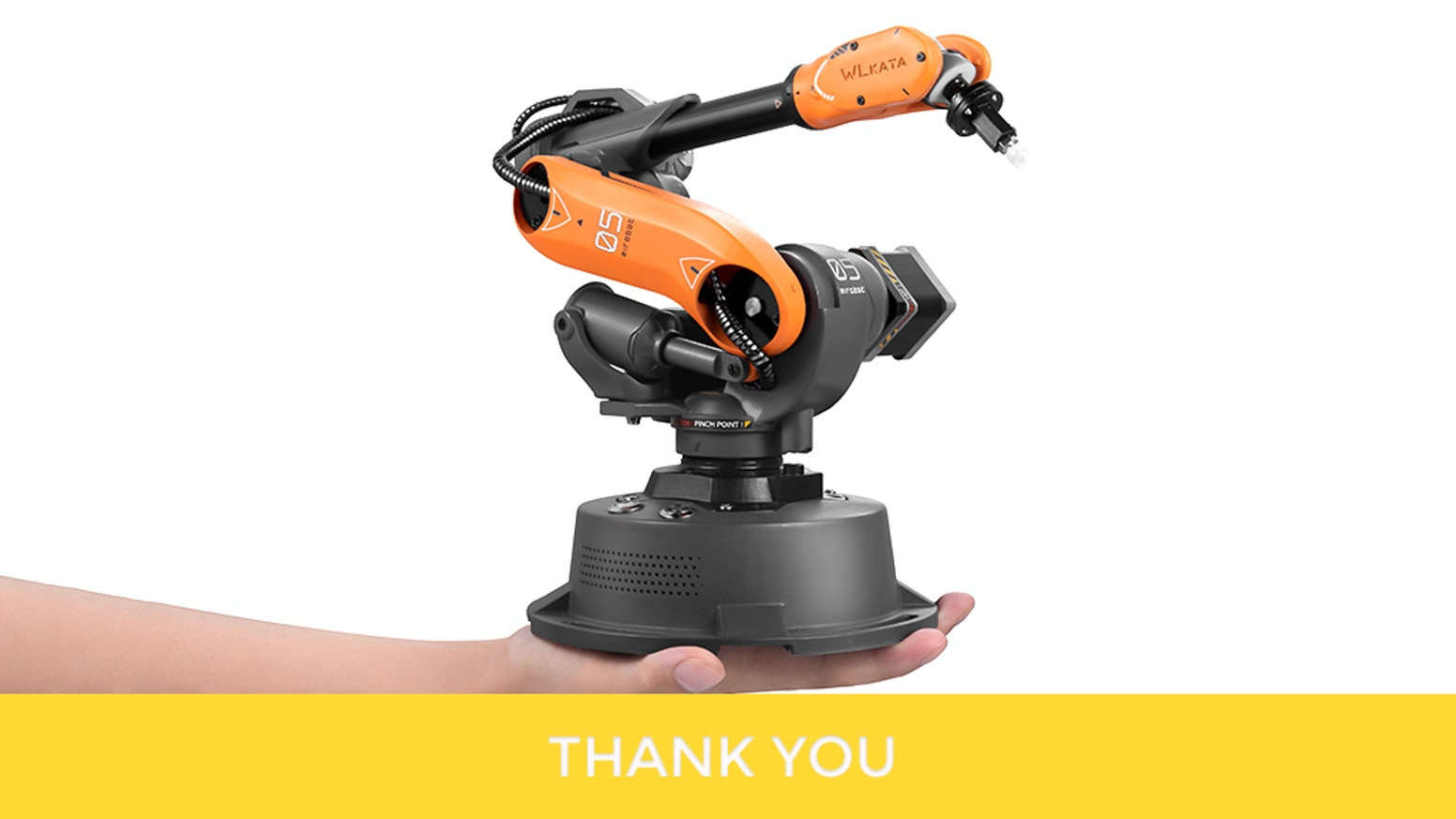 A compact, affordable and open-source desktop robot arm. Perfect for coding, creative work and much more.