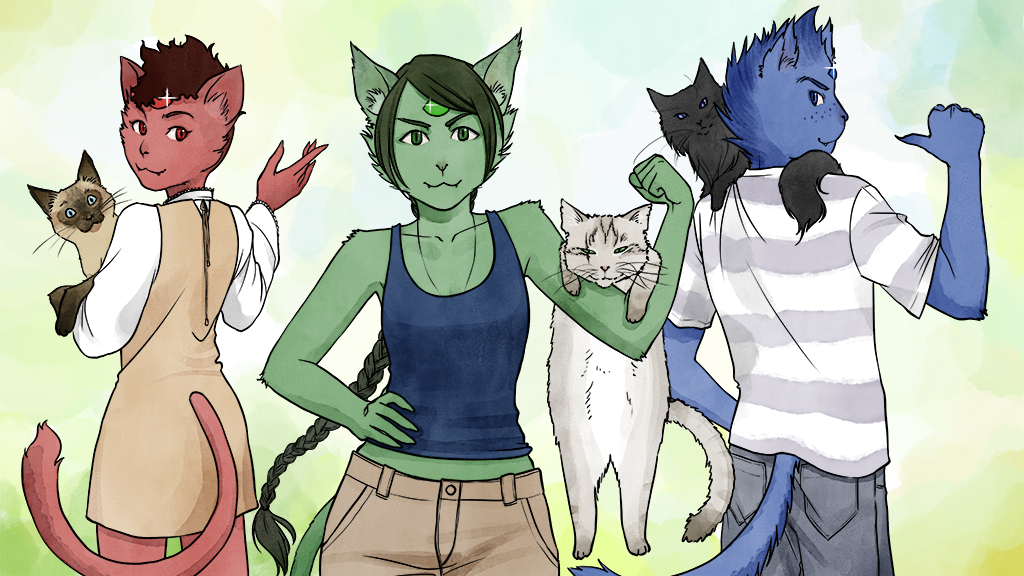 Catians - Chapter 1 - A Feline (and Human!) Fantasy Comic project video thumbnail
