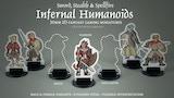 Infernal Humanoids 30mm 2D Fantasy Gaming Miniatures thumbnail