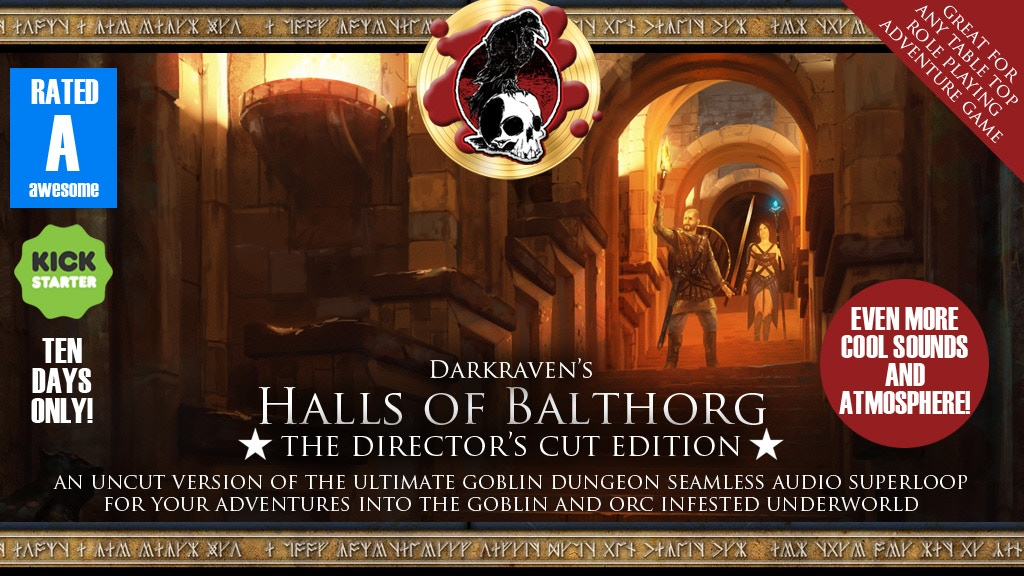 "Halls of Balthorg - ""Director's Cut"" - Goblin Dungeon project video thumbnail"