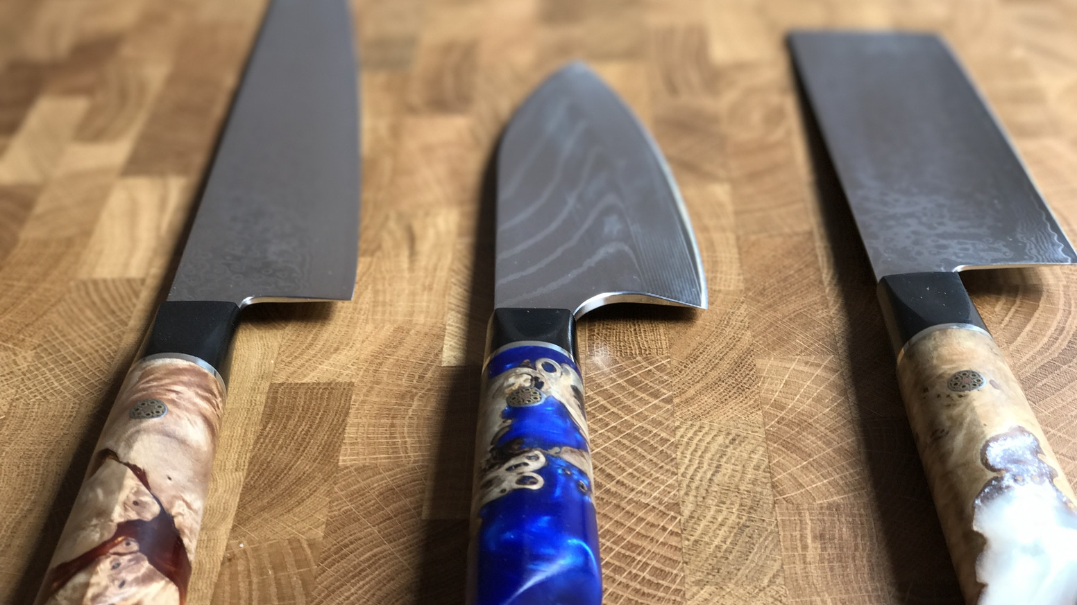 Kitchen Knives Beautiful Unique With Wow Factor By Koi Knives Kickstarter