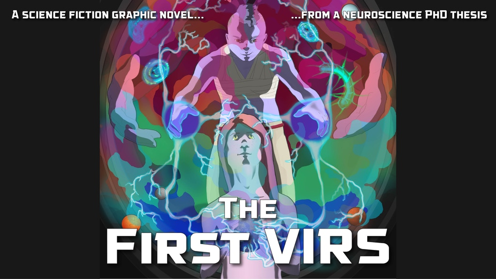 A sci-fi graphic novel based on real neuroscience project video thumbnail