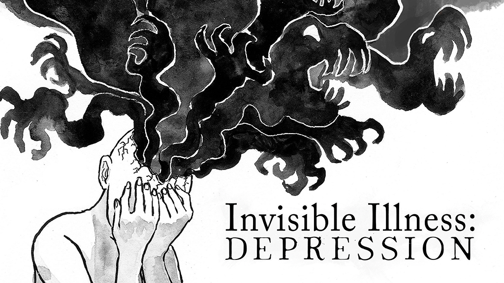 Update 3: Funded!! · Invisible Illness: Depression
