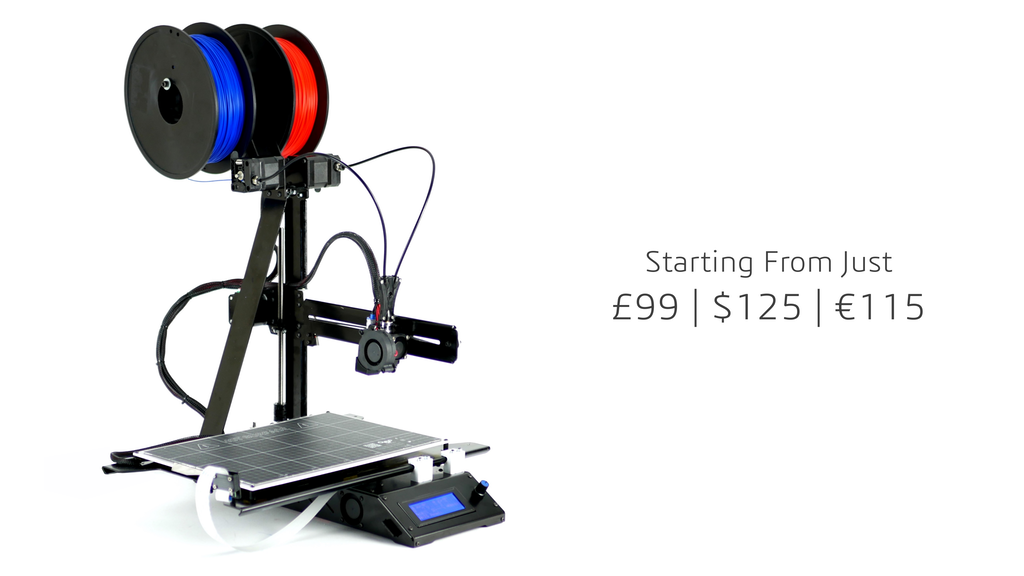 AXIS 3D Printer from £99/$125/€115 project video thumbnail