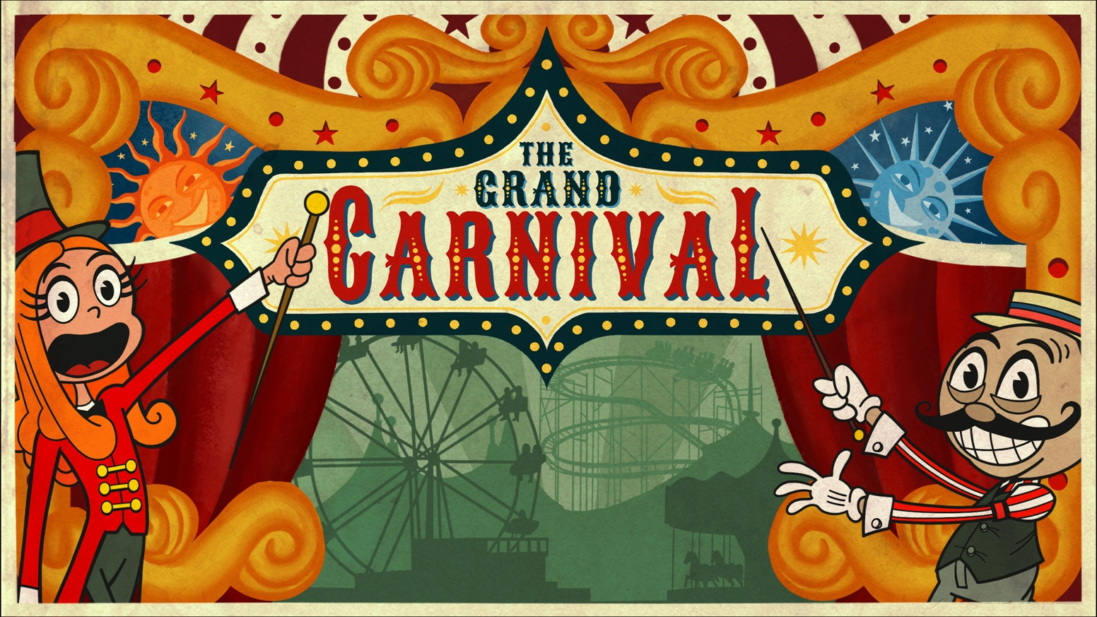 Design, build, and run the perfect carnival. A puzzley, polyomino game for 1 to 4 players.