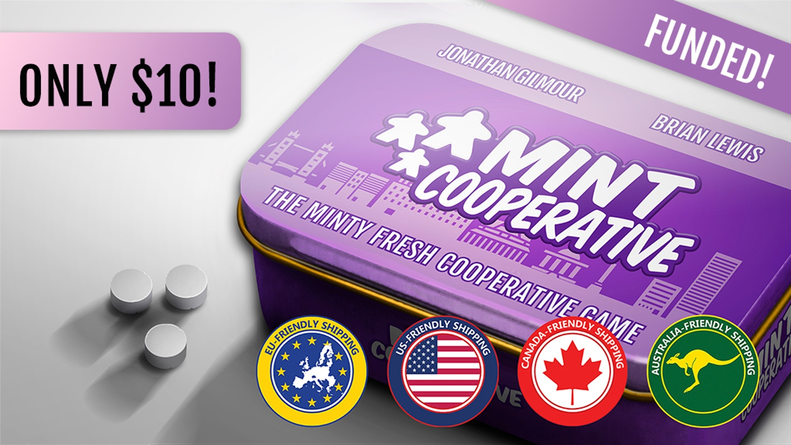 Mint Cooperative puts you and your fellow superheroes to work delivering the citizens of Mintopia from the threat of periodontal peril!