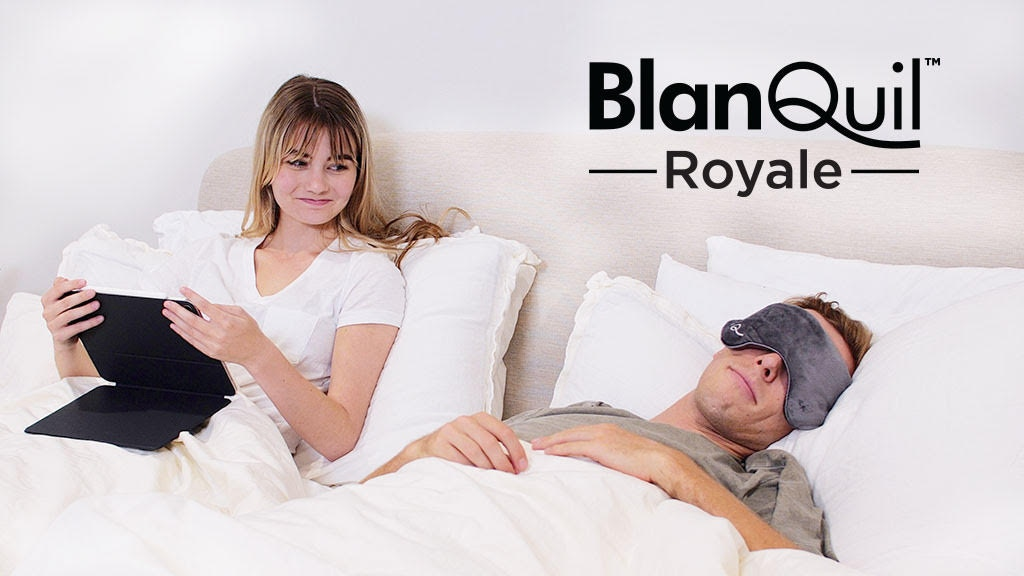 The BlanQuil Royale Queen and King Weighted Comforter project video thumbnail