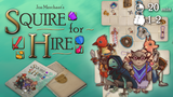 Squire for Hire - Micro Tile-Based Card Game thumbnail