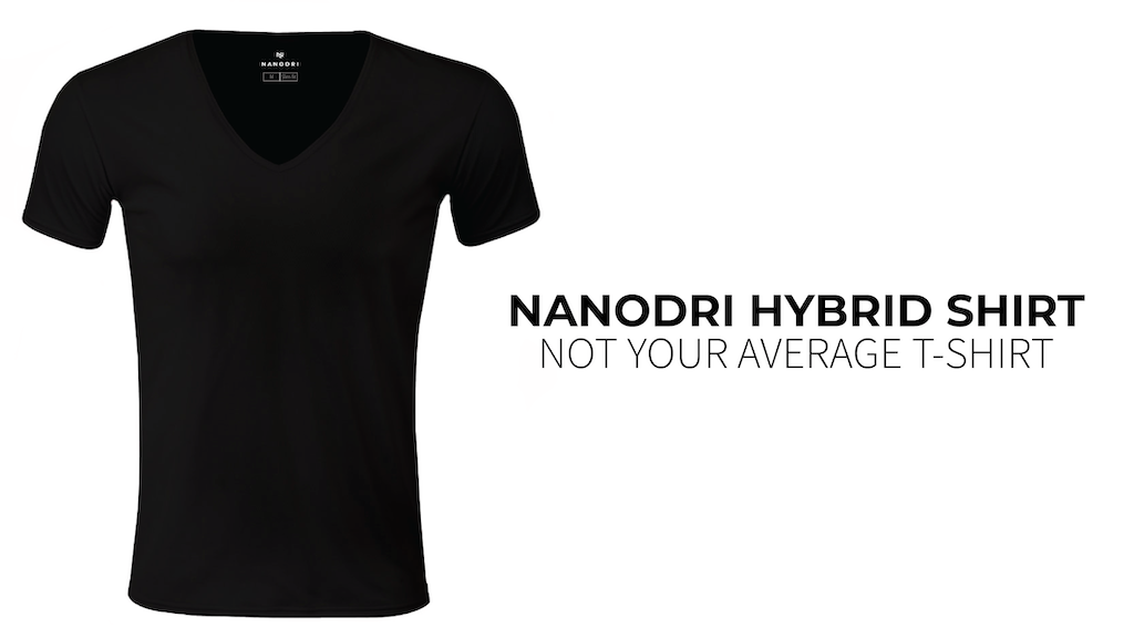 Nanodri | World´s first heat relief hybrid shirt project video thumbnail