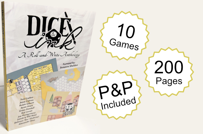 Dice & Ink: A Roll & Write Anthology