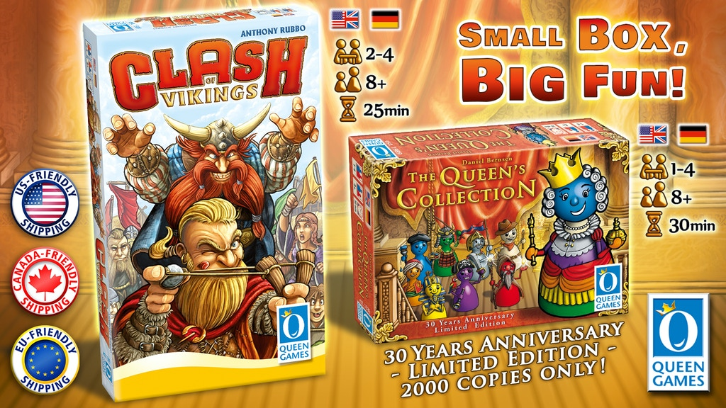 Project image for Queen Collection & Clash of Vikings