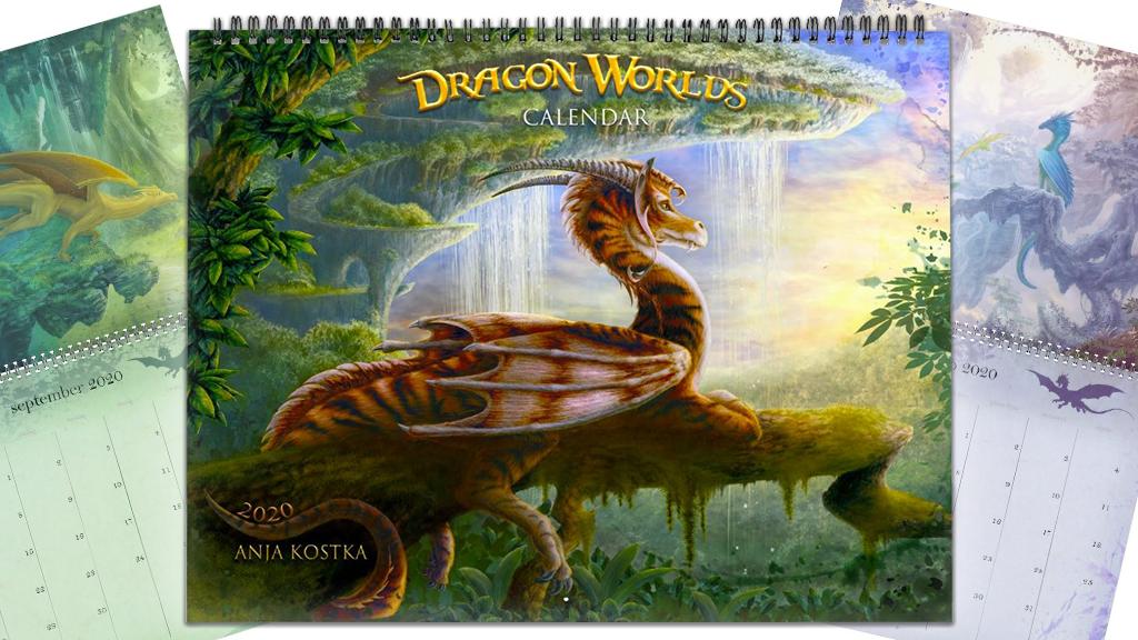 Dragon Worlds Calendar 2020 project video thumbnail